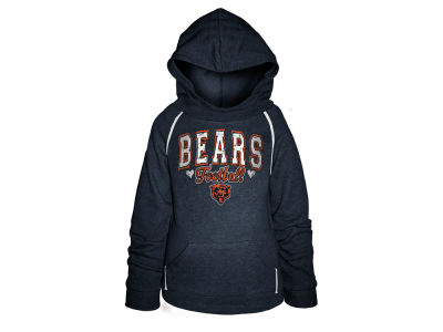 Chicago Bears 5th & Ocean NFL Youth Raglan Hoodie