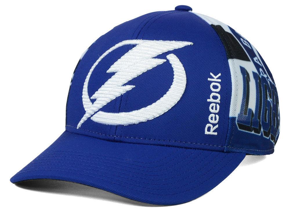 Tampa Bay Lightning Reebok NHL 2014-2015 Playoff Hat  b38e609aa53