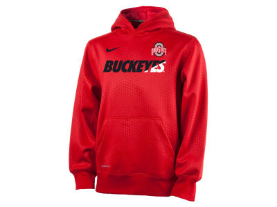Ohio State Buckeyes Nike NCAA Youth KO Fleece Pullover Hoodie