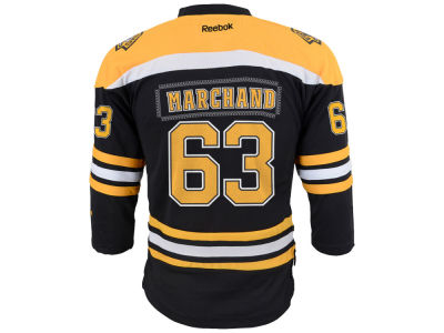 Boston Bruins Brad Marchand NHL Youth Replica Player Jersey