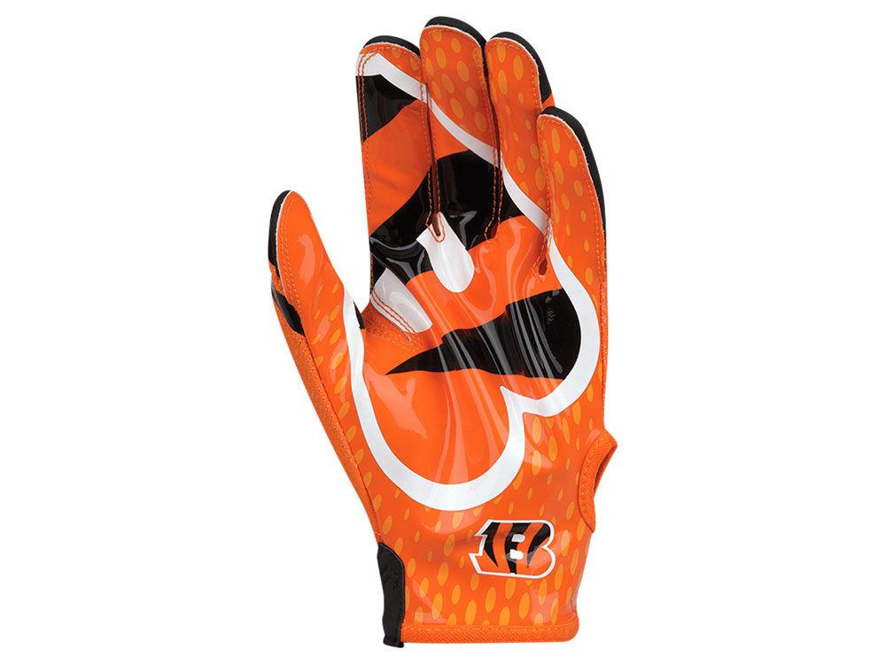 Cincinnati Bengals Nike Vapor Knit Gloves  30ac2afe4428