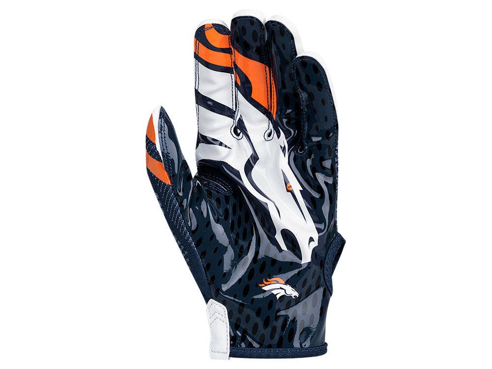 Denver Broncos Nike Vapor Knit Gloves  0724b391701d