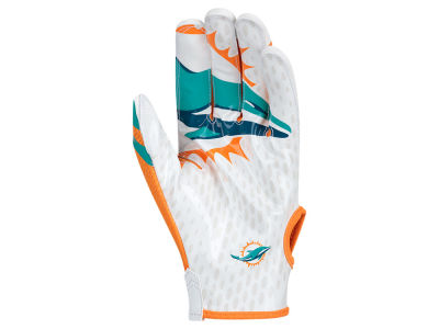 Miami Dolphins Nike Vapor Knit Gloves