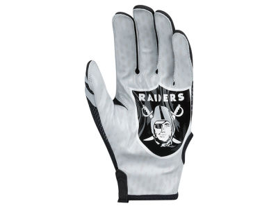 Oakland Raiders Nike Vapor Knit Gloves