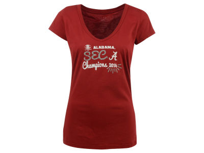 Alabama Crimson Tide Blue 84 NCAA Women's 2014 SEC Champ T-Shirt