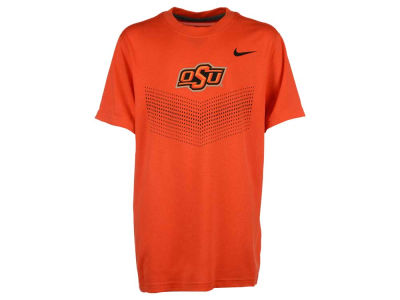 Oklahoma State Cowboys Nike NCAA Youth Dri-Fit Legend Logo T-Shirt