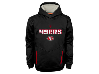 San Francisco 49ers NFL Youth Shadow Pullover Hoodie