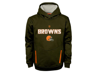 Cleveland Browns NFL Youth Shadow Pullover Hoodie