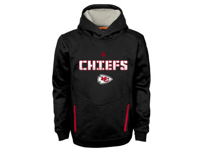 Kansas City Chiefs NFL Youth Shadow Pullover Hoodie