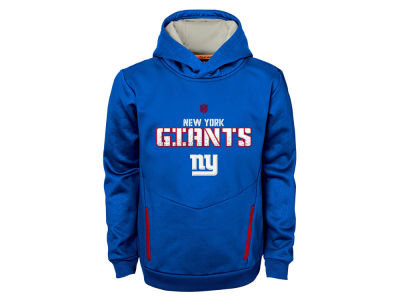 New York Giants NFL Youth Shadow Pullover Hoodie