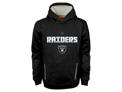 Oakland Raiders NFL Youth Shadow Pullover Hoodie