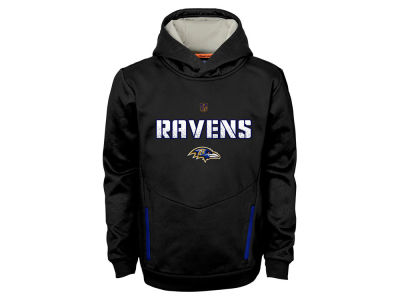 Baltimore Ravens NFL Youth Shadow Pullover Hoodie