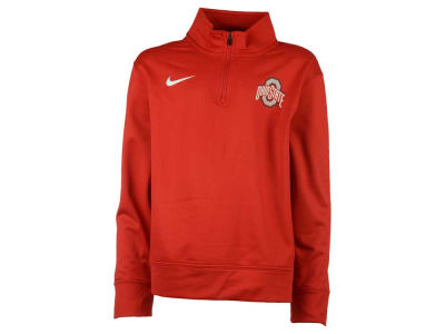 Nike NCAA Youth Dri-Fit 1/4 Zip Pullover Shirt