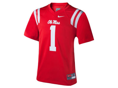 Ole Miss Rebels Nike NCAA Kids Replica Football Game Jersey