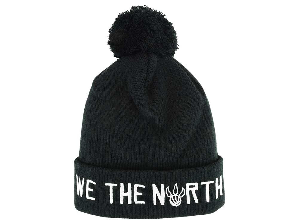 Toronto Raptors Mitchell   Ness We The North Knit Beanie  667e1a14f61