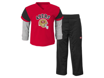 San Francisco 49ers NFL Toddler Charger Pant Set