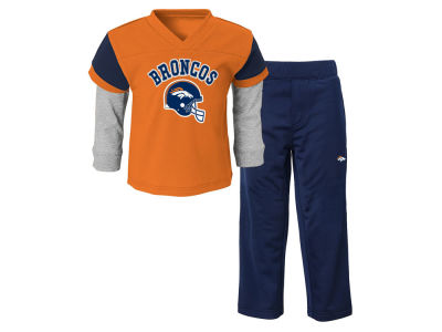 Denver Broncos NFL Toddler Charger Pant Set