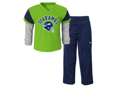 Seattle Seahawks Outerstuff NFL Toddler Charger Pant Set