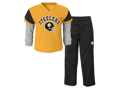 Pittsburgh Steelers NFL Toddler Charger Pant Set