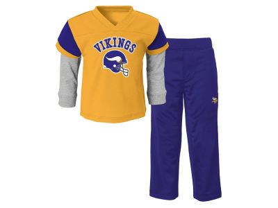 Minnesota Vikings NFL Toddler Charger Pant Set