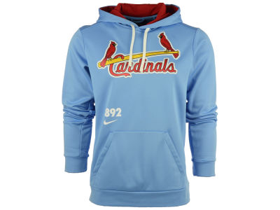 St. Louis Cardinals Nike MLB Men's Cooperstown Performance Hoodie 1.5
