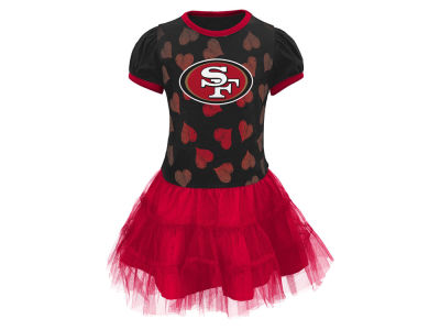 San Francisco 49ers Outerstuff NFL Toddler Love to Dance Tutu Dress