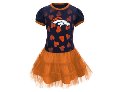 Denver Broncos Outerstuff NFL Toddler Love to Dance Tutu Dress