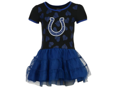 Indianapolis Colts Outerstuff NFL Toddler Love to Dance Tutu Dress
