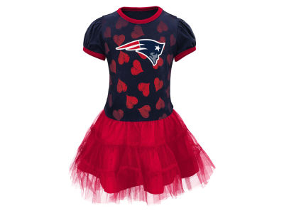 New England Patriots Outerstuff NFL Toddler Love to Dance Tutu Dress
