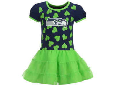 Seattle Seahawks Outerstuff NFL Toddler Love to Dance Tutu Dress