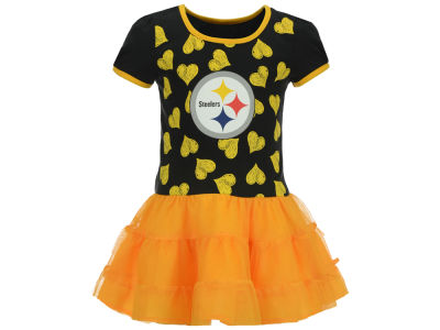 Pittsburgh Steelers Outerstuff NFL Toddler Love to Dance Tutu Dress