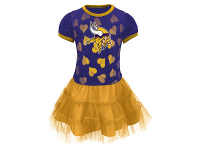 Minnesota Vikings Outerstuff NFL Toddler Love to Dance Tutu Dress