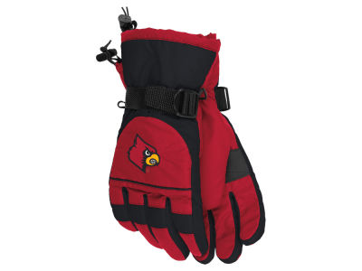 Louisville Cardinals adidas Nylon Gloves