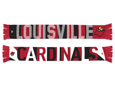 Louisville Cardinals adidas Fan Gear Wormark Scarf