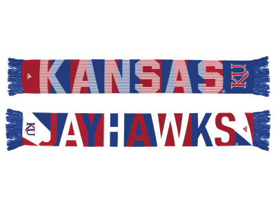 Kansas Jayhawks adidas Fan Gear Wormark Scarf