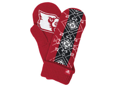 Louisville Cardinals adidas Fan Gear Knit Mitten