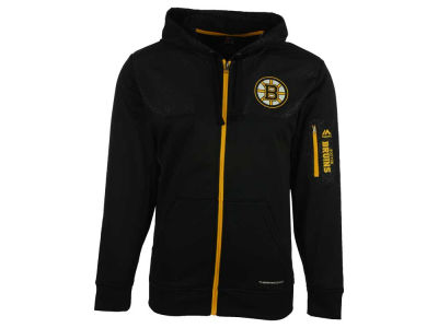 Boston Bruins Majestic NHL Men's Ready For Action Full-Zip Hoodie