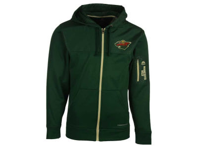Minnesota Wild Majestic NHL Men's Ready For Action Full-Zip Hoodie