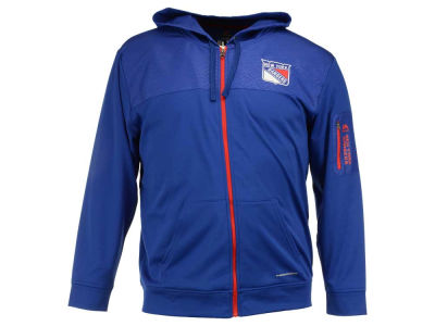 New York Rangers Majestic NHL Men's Ready For Action Full-Zip Hoodie