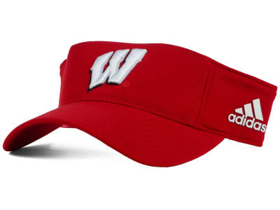Wisconsin Badgers adidas NCAA Coaches Visor