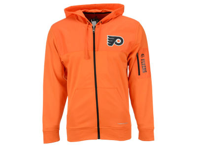 Philadelphia Flyers Majestic NHL Men's Ready For Action Full-Zip Hoodie