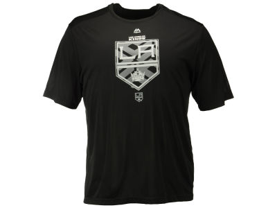 Los Angeles Kings Majestic NHL Men's Solid Win Synthetic T-Shirt