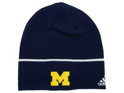 Michigan Wolverines adidas NCAA Travel Beanie Knit