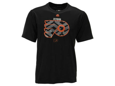 Philadelphia Flyers Majestic NHL Men's Solid Win Synthetic T-Shirt