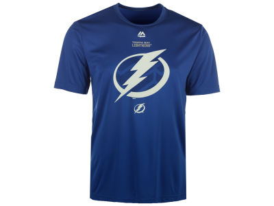 Tampa Bay Lightning Majestic NHL Men's Solid Win Synthetic T-Shirt