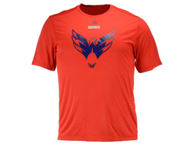Washington Capitals Majestic NHL Men's Solid Win Synthetic T-Shirt