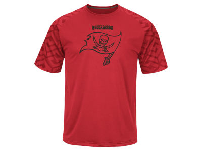 Tampa Bay Buccaneers Majestic NFL Men's Skill In Motion Synthetic T-Shirt