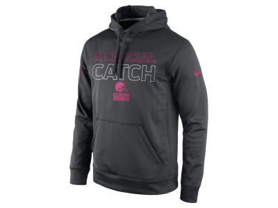 Cleveland Browns Nike NFL Men's Breast Cancer Awareness KO Hoodie
