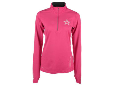 NFL Women's Stadium Element 1/4 Zip Pullover Shirt