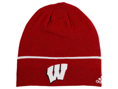Wisconsin Badgers adidas NCAA Travel Beanie Knit
